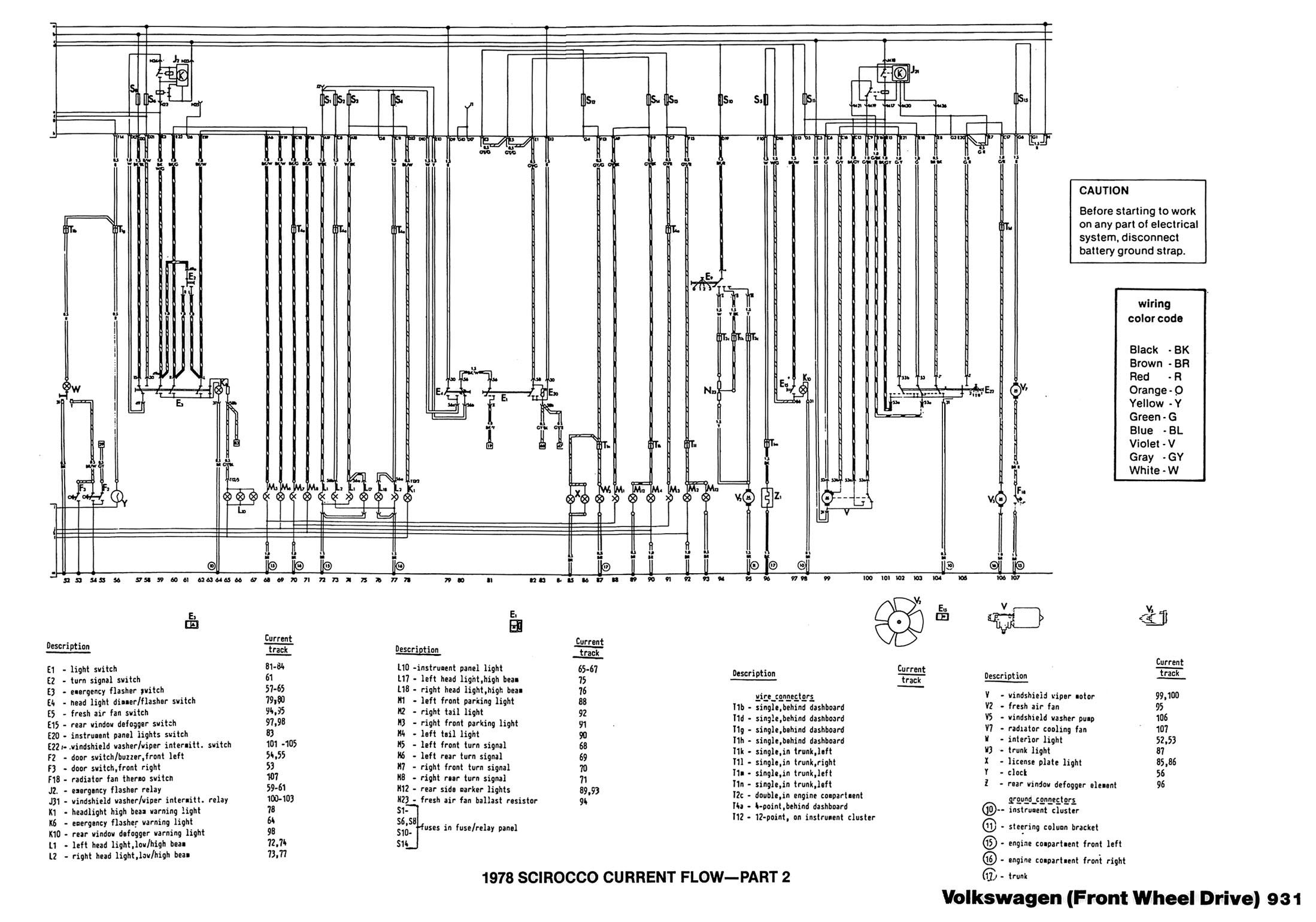 1979 Scirocco Current Flow - Part 1